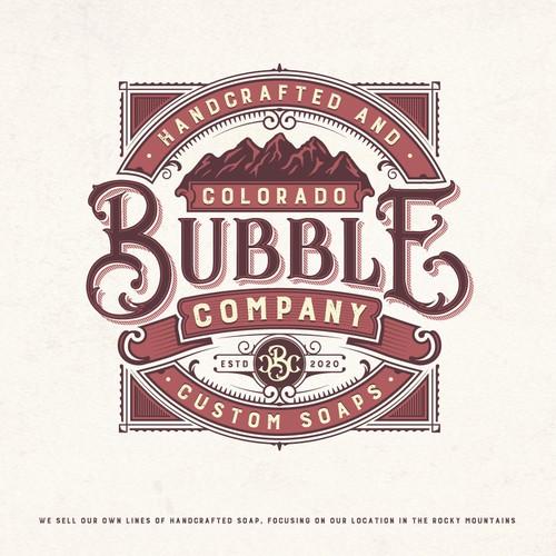 Colorado design with the title 'Bubble Company'