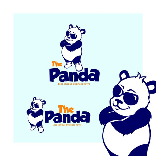 Fat design with the title 'Panda'