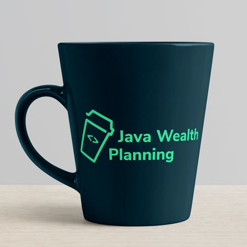 Java logo with the title 'Java wealth planning Logo'