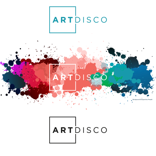 Art logo with the title 'Simple Line Art Logo'