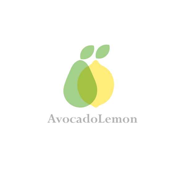 Avocado design with the title 'AvocadoLemon'
