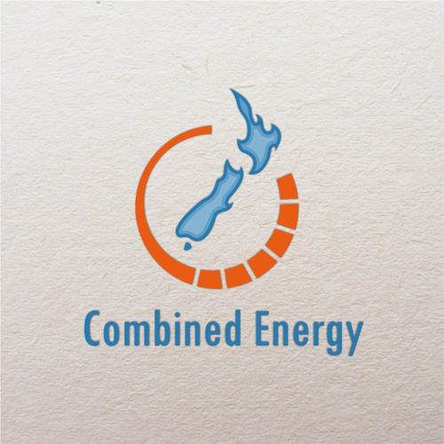 New Zealand logo with the title 'Combined Energy contest ( New Zealand )'
