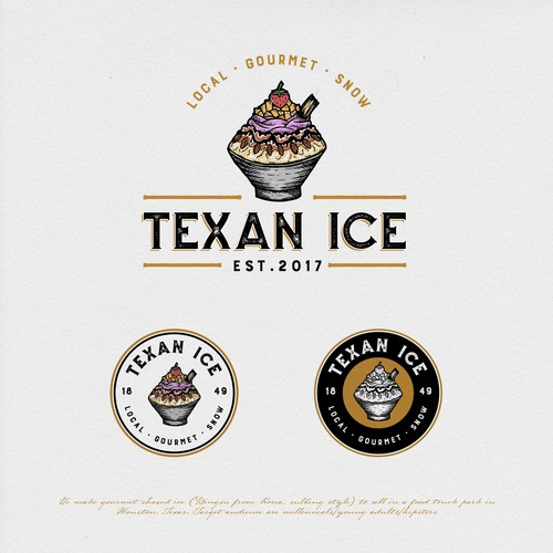 Dallas logo with the title 'TEXAN ICE'