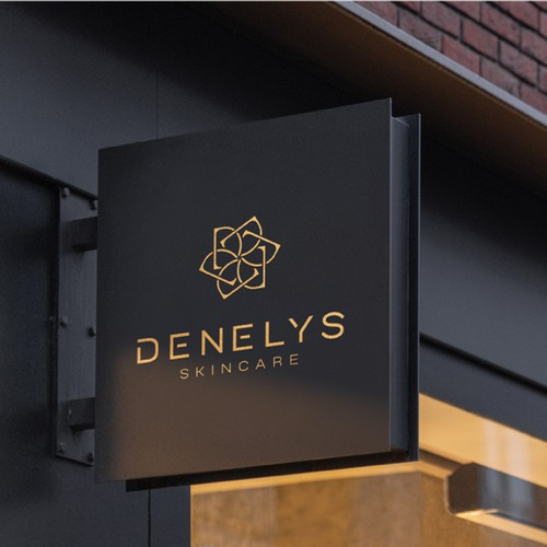 Upscale logo with the title 'Modern elegant logo for Denelys!'