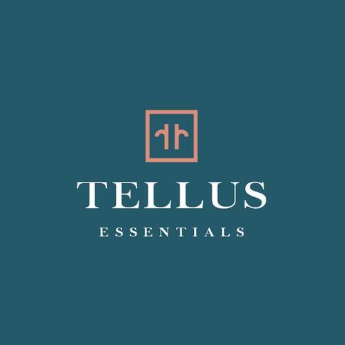 Logo with the title 'Tellus Essentials'