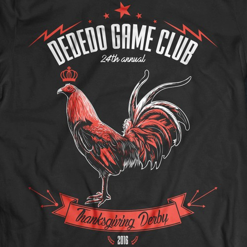 Winning design with the title 'Gamefowl T-shirt'