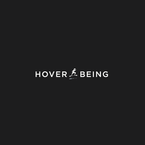Figure logo with the title 'logo for hover board company'
