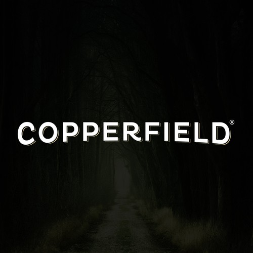 Timeless logo with the title 'Copperfield Logo'