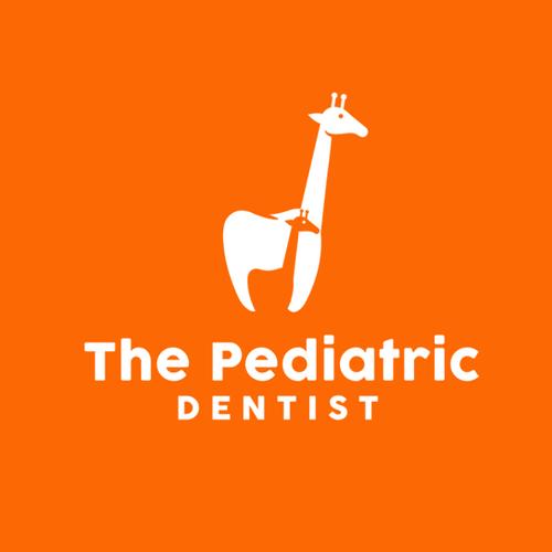 Pediatric logo with the title 'the pediatric dentist'