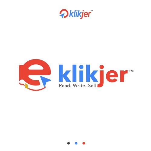 Ebook logo with the title 'klikjer'