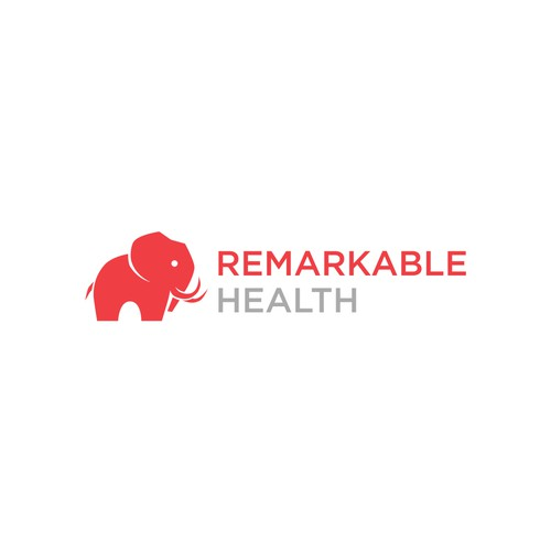Software logo with the title 'Logo featuring an abstract elephant'