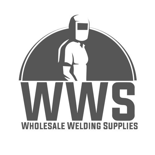 Wholesale logo with the title 'Wholesale Welding supplies Company'