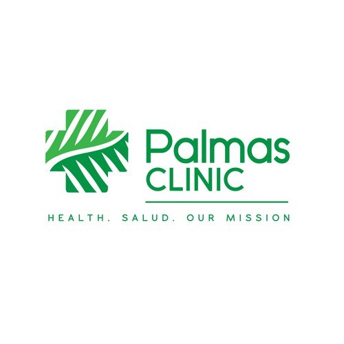 Clinic brand with the title 'Hospital Logo'