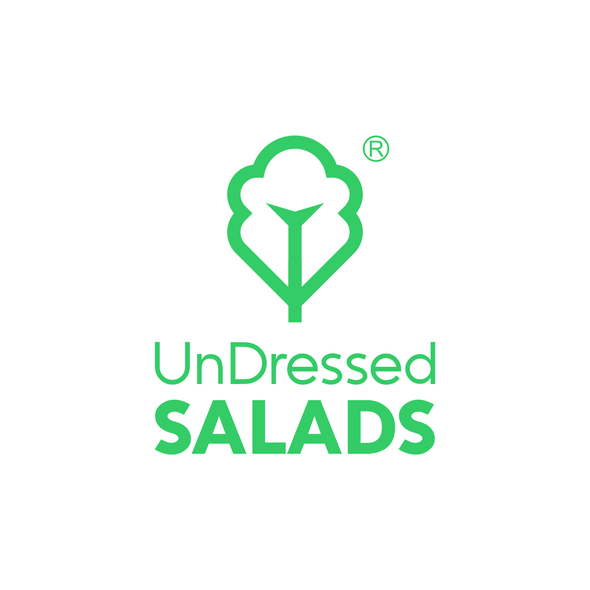 Eating logo with the title 'Salad concept for a digital kitchen'