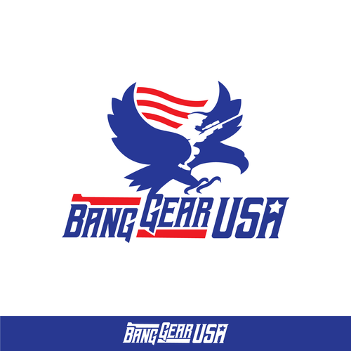 Patriot logo with the title 'Logo design contest entry'