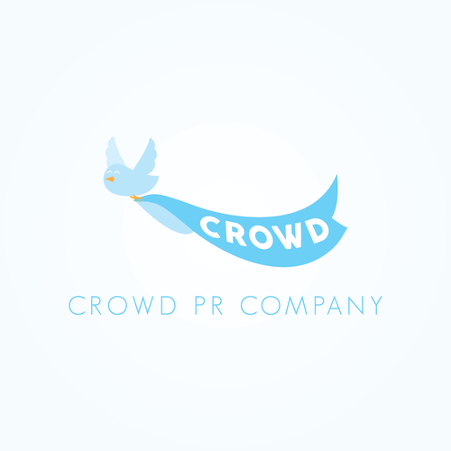 PR design with the title 'Logo Design for PR company'