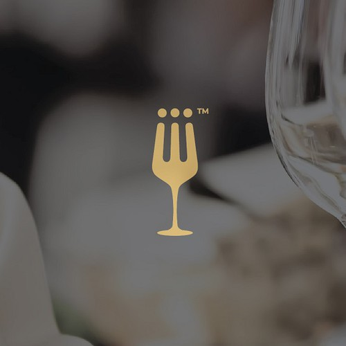 Wine glass design with the title 'tablehood '
