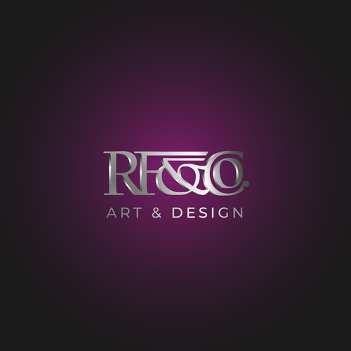 Luxury artwork with the title 'Logo design for a jewelry brand '
