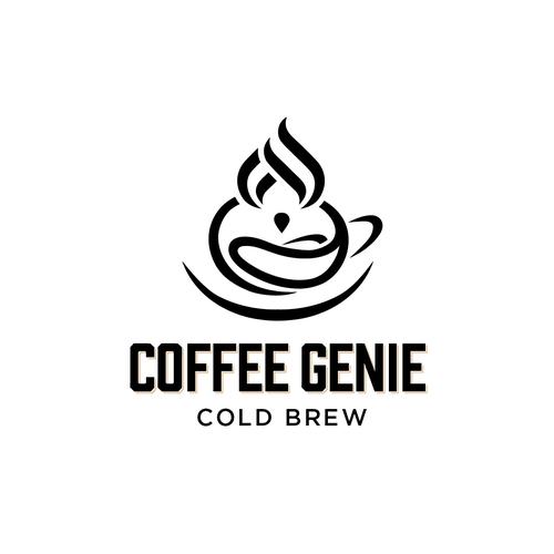 Amazing logo with the title 'genius logo design'