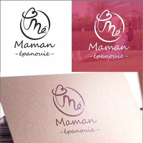 Maternity design with the title 'Maman Epanouie'