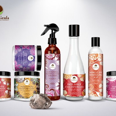 Packaging design for hair products