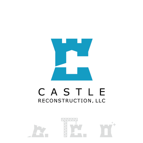 Fort logo with the title 'Professional & elegant logo for residential reconstruction company. '