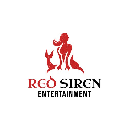 Siren logo with the title 'Red Siren logo'
