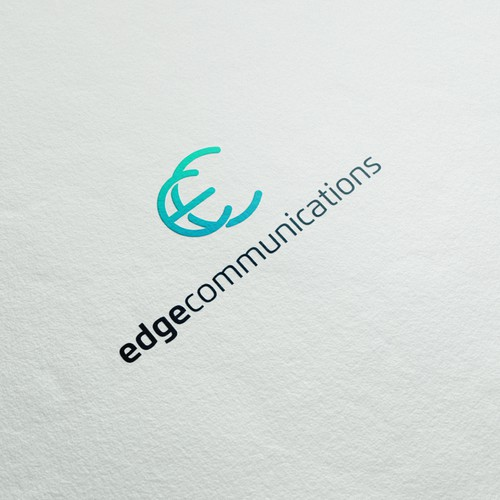 Innovative logo with the title 'Edge Communications'