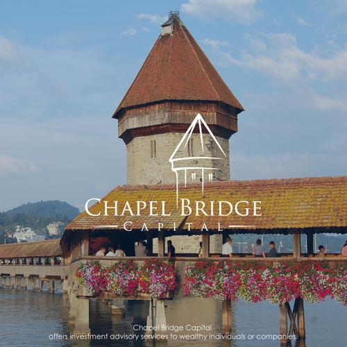 Landmark design with the title 'Chapel Bridge Capital'