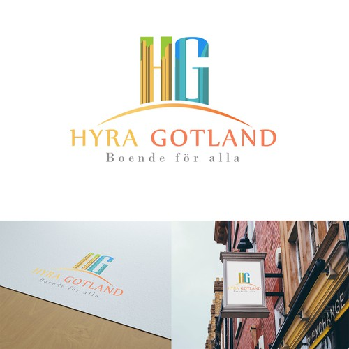 Horizon logo with the title 'Hyra Gotland '