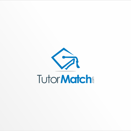 Learning logo with the title 'TutorMatch.com Logo Design'