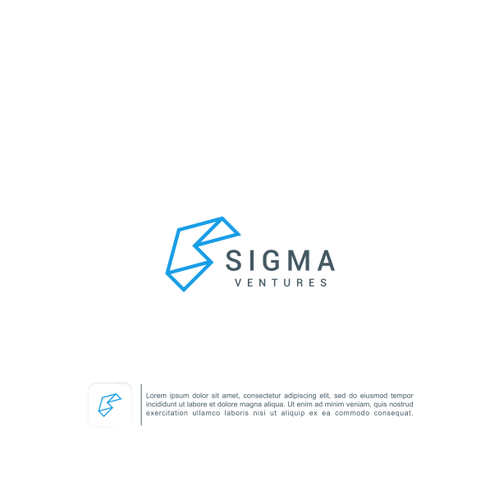 Venture logo with the title 'Sigma Ventures'