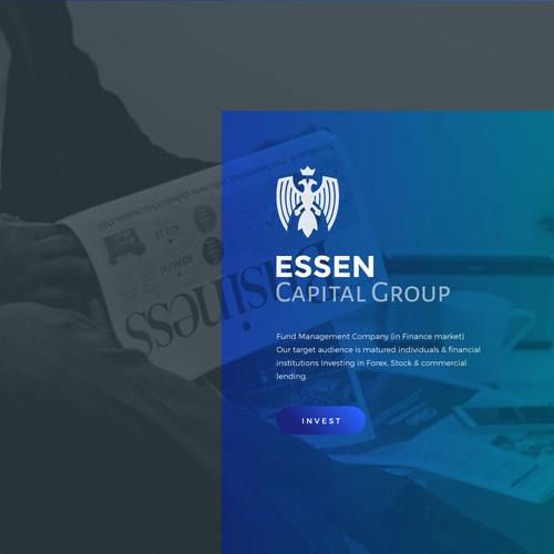 Precise design with the title 'Logo inspired from Essens Coat of Arms'