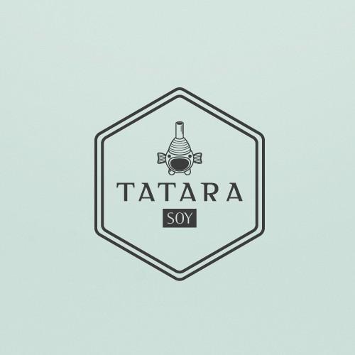 Oriental logo with the title 'Tatara logo concept'