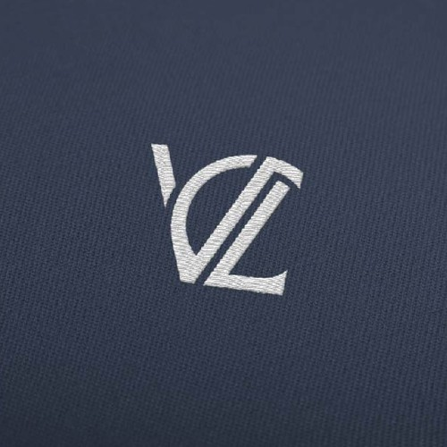 Embroidery design with the title 'Monogram logo for  fashion brand'