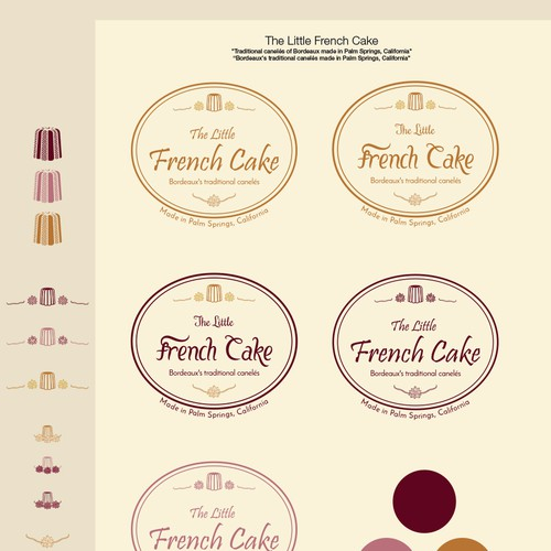 Cake brand with the title 'Entry logo design contest'