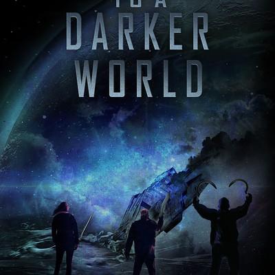 Book cover for sci-fi fantasy