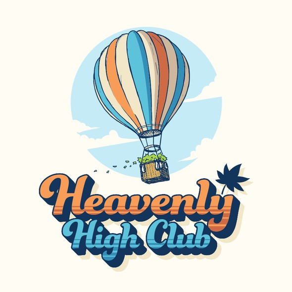 Heaven design with the title 'Heavenly High Club'