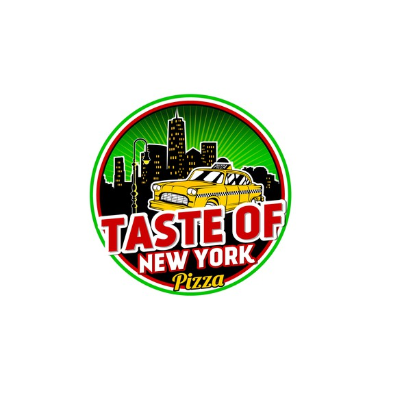 Taxi logo with the title 'Taste of New York'