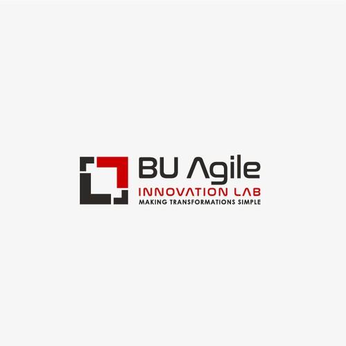 Puzzle logo with the title 'BU Agile'