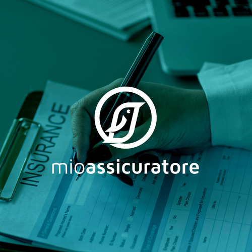 Insurance logo with the title 'mioassicuratore'