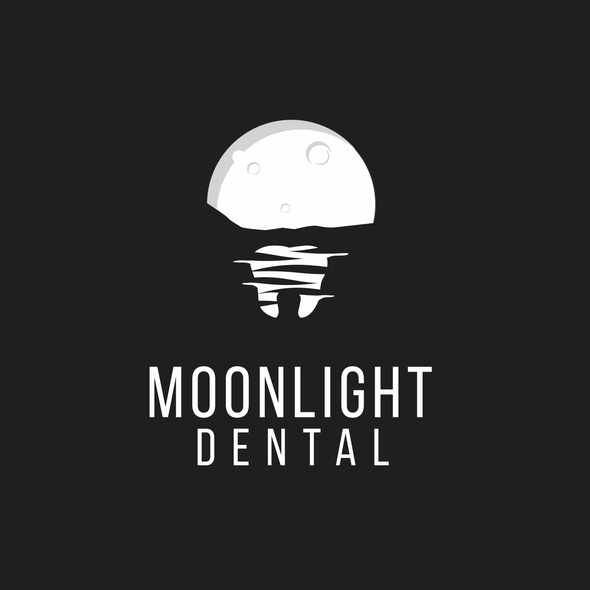 Moonlight design with the title 'Moonlight Dental'