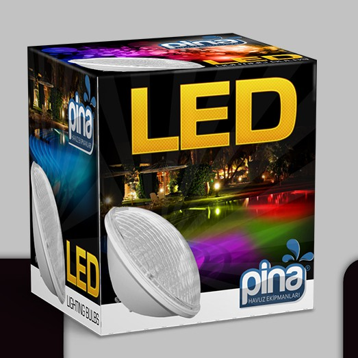 LED lighting design with the title 'Led box'