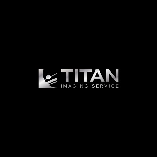 Service logo with the title 'Logo Design for Titan Imaging Service'