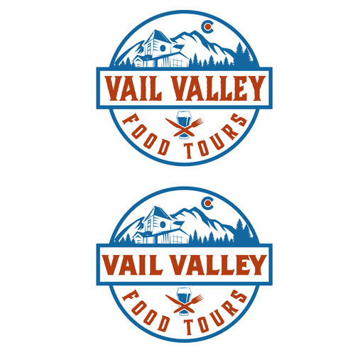 Tour design with the title 'Vail Valley Colorado'