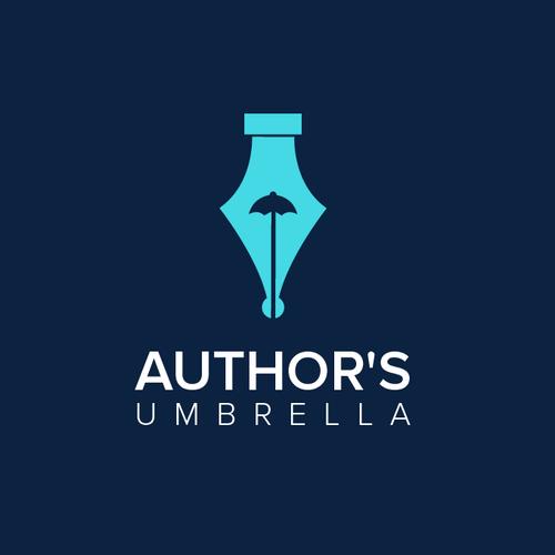Umbrella design with the title 'Author's Umbrella'