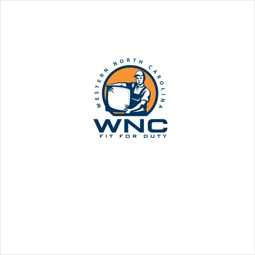Guy design with the title 'WNC'