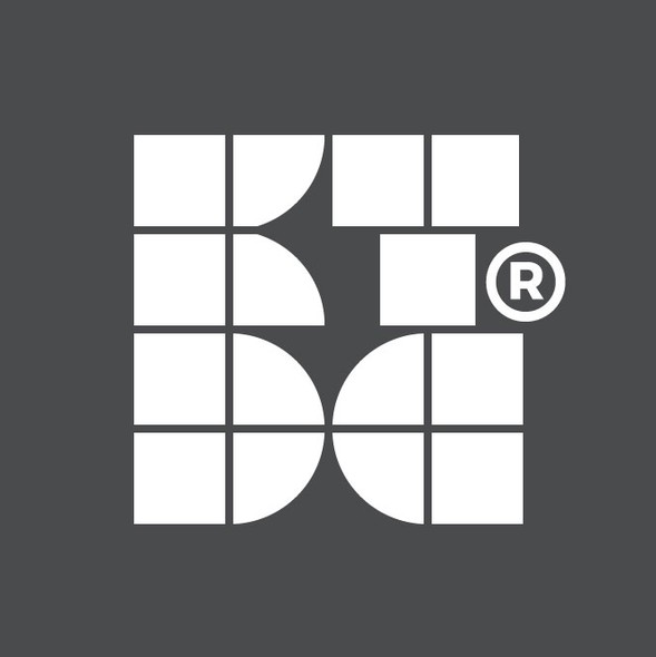 Adaptive logo with the title '4D logo for KT Design Company'