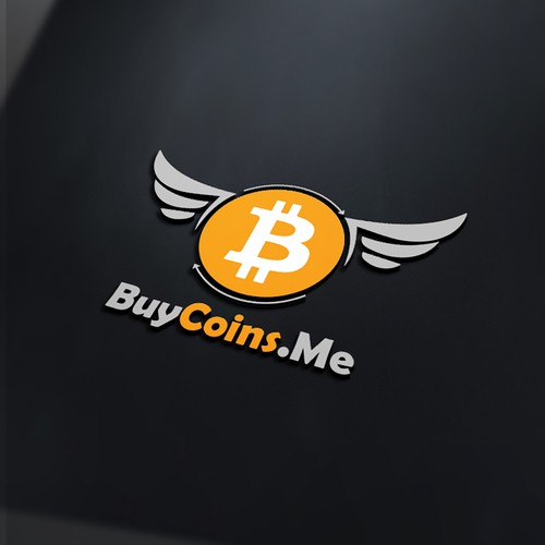 Cryptocurrency logo with the title 'BuyCoins.Me'