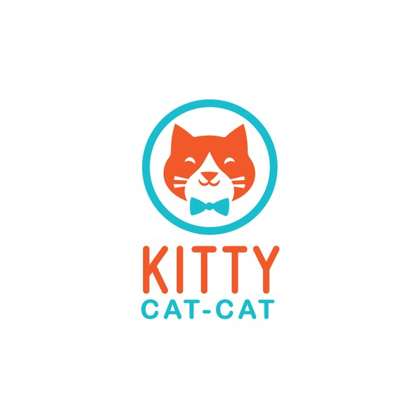 Kitty design with the title 'Kitty Logo'